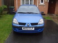 For sale renault clio.