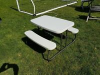 Lifetime kids' collapsing picnic camping table