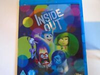 Unused 'Inside Out' Blu-Ray DVD