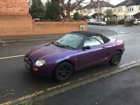 MG convertible for sale, Long MOT, some service, drive really good.