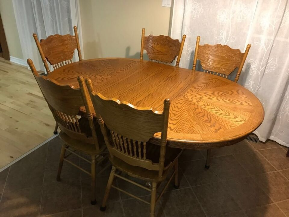 Dining Table Set With Wooden Cabinet