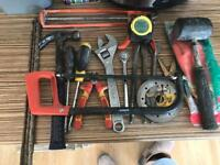 LARGE SELECTION OF HAND TOOLS