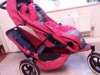 PHIL AND TEDS TANDEM PUSHCHAIR