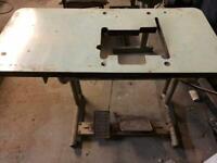 Overlock Sewing Machine Table