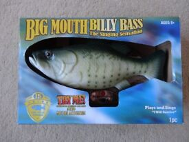 BRAND NEW Big Mouth Billy Bass Singing Fish