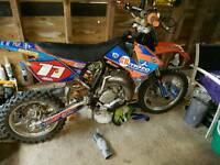 Ktm 85cc small wheel 07 swaps. Not rt kx yz pw crf