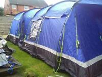 Kalahari 10 man tent with carpet