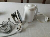 Travel kettle and iron