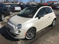 2013 Fiat 500C LOUNGE / CONVERTIBLE / LEATHER / 64KM Cambridge Kitchener Area Preview