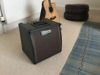 Crate C15 acoustic amplifier