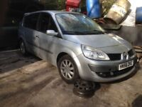 RENAULT GRAND SCENIC BREAKING FOR SPARES ALL PARTS AVAILABLE INC ENGINE, GEARBOX