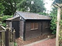 Sheds available for collection and dismantling only.