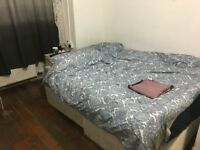 large double room to let @ E13 9DA all bills inclusive 3 min walk upton park station available now !