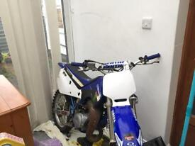 yamaha yz 80 retro fast bike big wheel motocross px swap