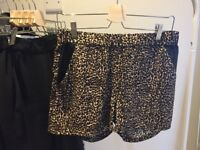 The Kooples Panther Print Shorts