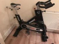 exercise bike star trac nxt bike