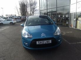 2012 12 CITROEN C3 1.4 VTR PLUS HDI 5D 67 BHP **** GUARANTEED FINANCE ****