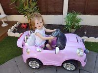 Pink Motorised Car