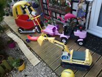 Kids/toddler outdoor toys for sale from £10 each