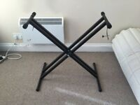 Keyboard Stand with Screw Grips - Mint Condition
