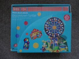 Marks and Spencer 44 piece Puzzletown Funfair Jigsaw Puzzle