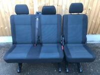 Vw T5 T6 Transporter Rear Kombi Seats in Simora Trim