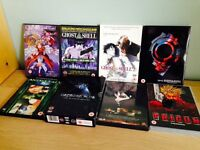 Selection of Manga DVDs