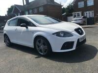 Seat leon 2.0 Tdi FR 170 - 2008 - White&Black - Mot&Tax - limp mode - not vxr golf s3 r sport vw
