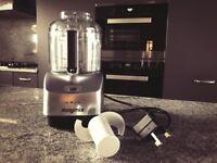 Magimix Le Micro Mini Food Processor - Satin