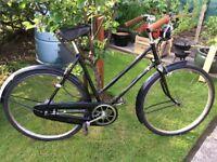 Vintage 1940's Town Bicycle