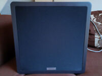 "Tannoy TS801 Subwoofer Active Powered Sub 10"" Inch Home Speaker for sale  Colchester, Essex"