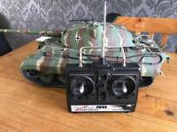 1/16th Scale Heng Long RC Radio Controlled WW2 Battle King Tiger Tank