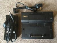 DELL E-SERIES DOCKING STATION PR03X PLUS AC POWER ADAPTOR