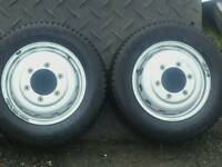 Mk7 Transit Tipper wheels and tyres
