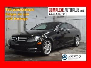 2012 Mercedes-Benz C-Class C350 Coupe 4Matic AMG Pack *Cuir,Toit