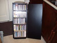 COLLECTION OF C.Ds, (CLASSICAL), in PURPOSE BUILT CABINET.