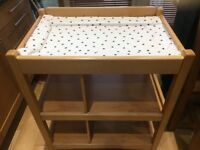 Mamas & Papas Changing Table - Hardwood Excellent Condition £20