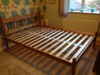 Double Wooden Bed Frame