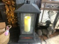 Lovely tall electric lantern heater