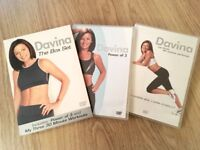 Davina McCall - The Power Of 3/My Three 30 Minute Workouts (DVD, 2006, Box Set)