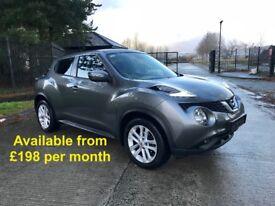 Nissan Duke (Tiguan Qashqai Sportage Q3 Q5 Mokka) £198 per month
