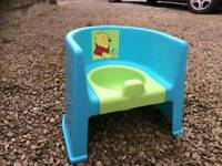 Winnie the Pooh potty seat.