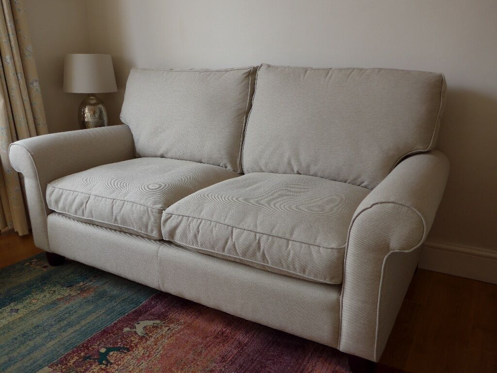 Laura ashley 2 seater fabric sofa bed very good for Sofa bed very