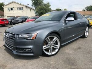2014 Audi S5 3.0 RARE 6 SPEED AWD MOONROOF LEATHER NAV