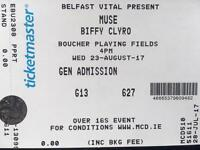 2 Muse and Biffy Clyro tickets