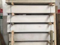 Concrete gravel boards, base panels