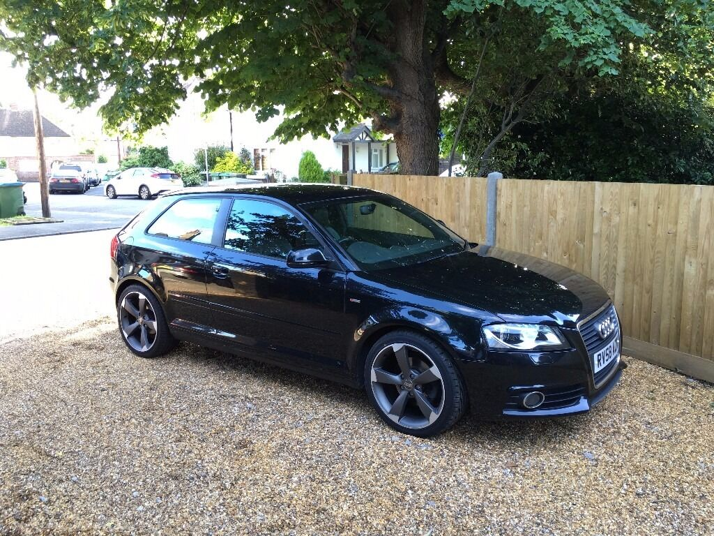 2009 audi a3 s line top spec 1 4 tfsi 1 previous owner from new in woking surrey gumtree. Black Bedroom Furniture Sets. Home Design Ideas