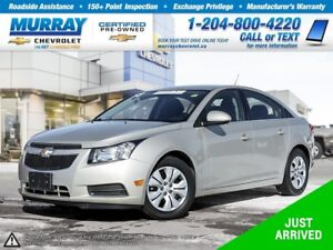 2013 Chevrolet Cruze LT Turbo *Remote Start, Climate Control, On