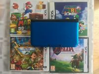 Nintendo 3DS XL With 4 Classic Games