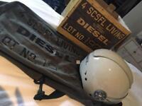 Diesel motocycle helmet for Vespa, scooter, 125cc